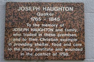 Haughton's Plaque