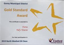 WCC Gold Standard Award 2019