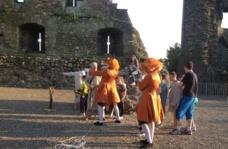 Archery at Ferns Castle