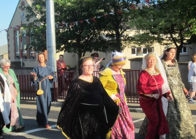 Ferns medieval gathering parade