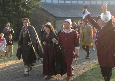 Ferns medieval gathering at ferns castle