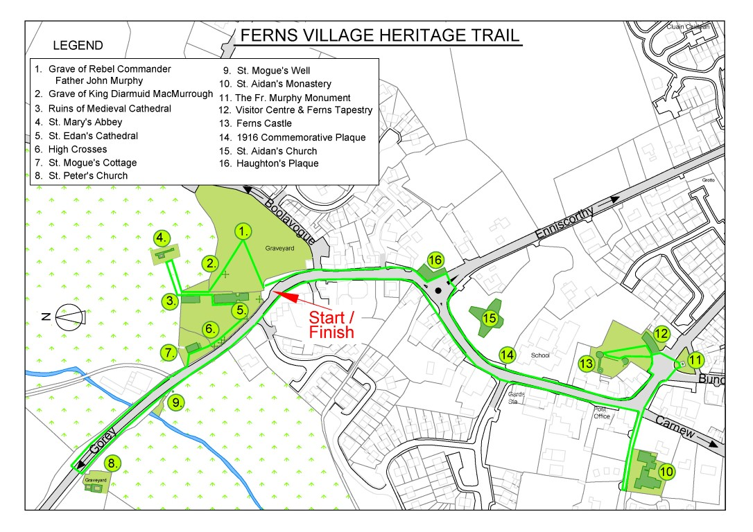 Ferns Heritage Trail Map (2018)