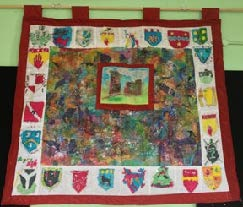 Ferns Heritage Village-5th Classs Gathering Tapestry 2013